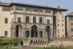 Galería de Uffizi en Florencia, Italia Fotos de archivo