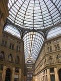 Galería de Umberto en Nápoles foto de archivo libre de regalías