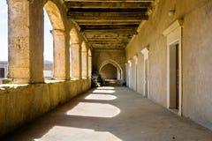 Galería del monasterio Fotos de archivo libres de regalías