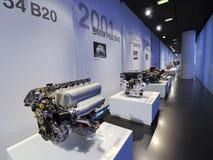 Galería del motor en el museo de BMW Fotos de archivo libres de regalías