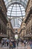 Galería el hacer compras y de la moda en Milano Imágenes de archivo libres de regalías