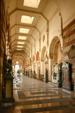 Galería en el cementerio monumental, Milán imágenes de archivo libres de regalías