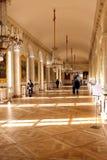 Galería en el Trianon magnífico Fotografía de archivo