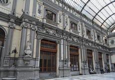 Galería en Nápoles Fotografía de archivo
