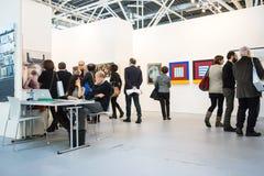 Galería en un arte justo Fotografía de archivo libre de regalías