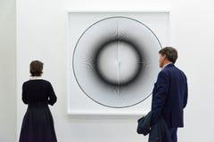 Galería en un arte justo Imagen de archivo