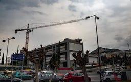 Galería nacional del timelapse de Atenas almacen de metraje de vídeo