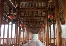 Galería vernácula china fotos de archivo libres de regalías