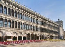 Galerías de San Marco por la mañana Imágenes de archivo libres de regalías