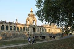 Galer?a de arte en Dresden Alemania fotos de archivo