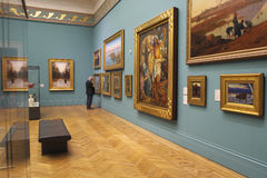 Galería de arte Imagen de archivo libre de regalías