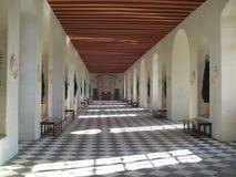 Galería de Chenonceau Imagen de archivo