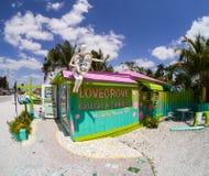 Galería Matlacha, la Florida de Lovegrove Foto de archivo