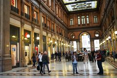 Galeria Alberto Sordi w Rome fotografia royalty free