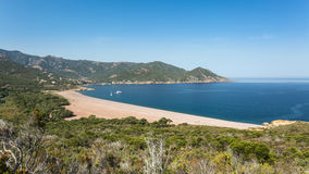 Galeria beach in Corsica Royalty Free Stock Photo