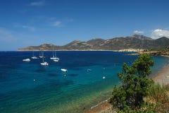 Galeria coast in Corsica Royalty Free Stock Photo