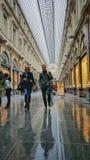 Galeria da compra, Bruxelas - Les Galeries Royale Saint-Hubert Imagens de Stock Royalty Free