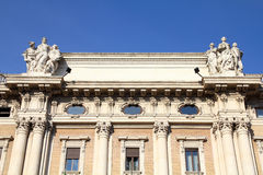 Galeria da compra de Roma Fotos de Stock