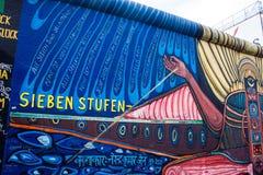 Galeria da zona leste em Berlim Imagem de Stock