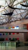 Galeria de Art Lobby Skylight Caulder foto de stock