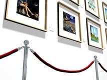 Galeria de arte ilustração royalty free