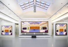 Galeria de arte. imagens de stock royalty free