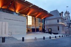 Galeria de arte de Auckland - Nova Zelândia fotografia de stock