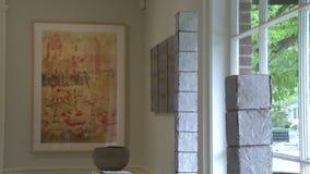 Galeria de arte de gama alta interna (6 de 7) vídeos de arquivo