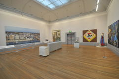 Galeria de arte liverpool do caminhante foto de stock
