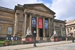 Galeria de arte liverpool do caminhante fotografia de stock
