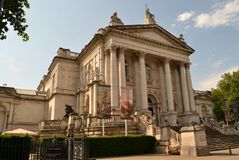 Galeria de arte Tate Britain London imagens de stock