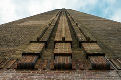 Galeria de arte de Tate Modern na central elétrica sul Londres Inglaterra Reino Unido do banco foto de stock