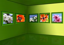 Galeria de flores da mola Foto de Stock Royalty Free