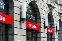 Galeria de Miele no Linden do antro de Unter Imagem de Stock