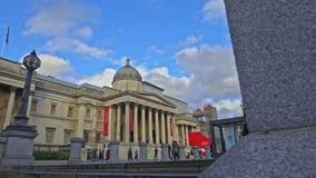 galeria de retrato nacional em Trafalgar Square, vídeos de arquivo