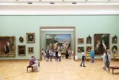 A galeria de Tretyakov do estado é uma galeria de arte em Moscou, Rússia, o primeiro depósito de belas artes do russo no mundo Foto de Stock Royalty Free