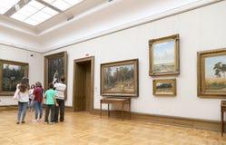 A galeria de Tretyakov do estado é uma galeria de arte em Moscou, Rússia, o primeiro depósito de belas artes do russo no mundo Imagem de Stock