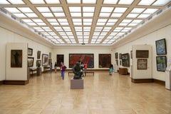 A galeria de Tretyakov do estado é uma galeria de arte em Moscou, Rússia, o primeiro depósito de belas artes do russo no mundo Foto de Stock