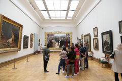 A galeria de Tretyakov do estado é uma galeria de arte em Moscou, Rússia, o primeiro depósito de belas artes do russo no mundo Imagens de Stock