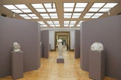 A galeria de Tretyakov do estado é uma galeria de arte em Moscou, Rússia, o primeiro depósito de belas artes do russo no mundo Fotografia de Stock Royalty Free