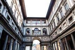 Galeria de Uffizi, Foto de Stock Royalty Free