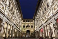 Galeria de Uffizi em Florença em Itália Foto de Stock Royalty Free