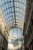 Galeria de Umberto em Nápoles Fotografia de Stock