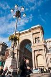 Galeria de Vittorio Emanuele dezembro em 11, 2009 dentro Imagens de Stock