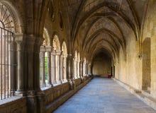 Galeria do claustro da catedral de Tarragona Imagens de Stock Royalty Free