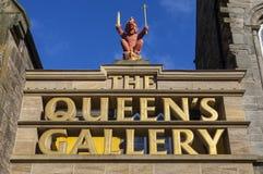 A galeria do Queens em Edimburgo Fotos de Stock