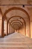 Galeria do S. Francesco, Fabriano fotos de stock royalty free