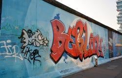 Galeria Eastside, berlinwall, em Berlim Fotos de Stock Royalty Free