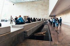 Galeria egípcia no museu de arte metropolitano em New York fotografia de stock royalty free