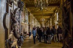 Galeria Francis mim, Fontainebleau foto de stock royalty free